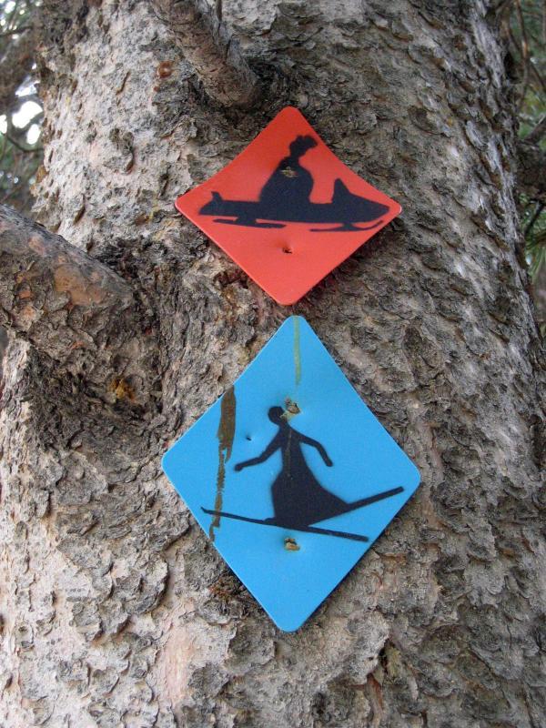 Snowmobile & Nordic Ski markers