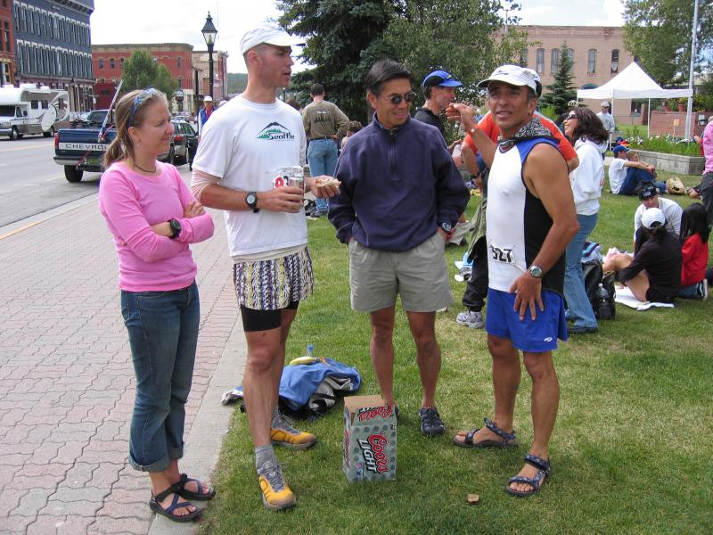 Leah, Eric, Don & Jamshid
