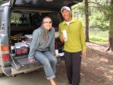 Leah & Glenn at Winfield Crew Access Area