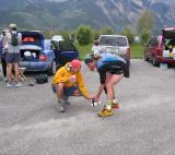 Roch assists Dusty