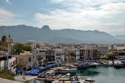 Girne from the castle