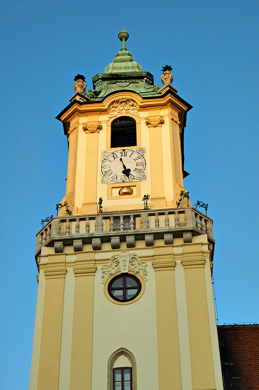 Tower in the square