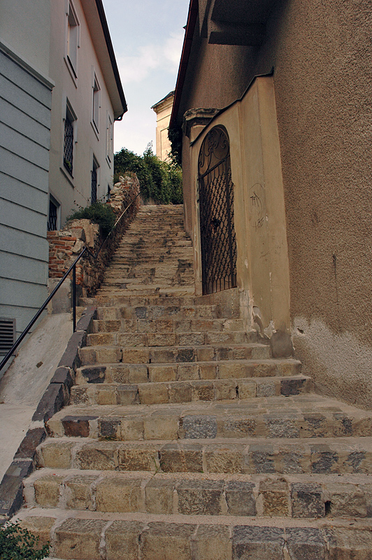 Stairway to the castle