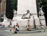Maine Battle Monument  - Life Imitating Art?