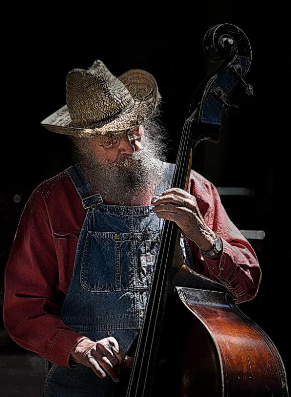 Draganized Bass Player