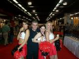 Me and the Ernie Ball Cheerleaders