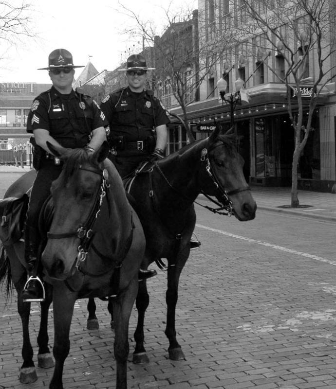 Orlando Mounted Police - Church Street Station