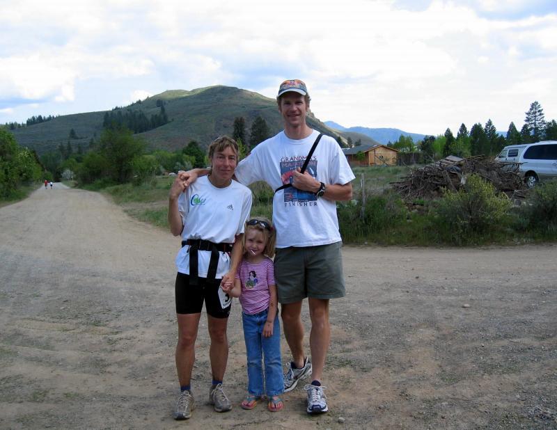 Stephanie & her family: Luke & Addie
