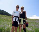 Stephanie Astell & Lisa - together at last!