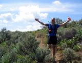 Tim loves the downhills.   He's ready for Western States!