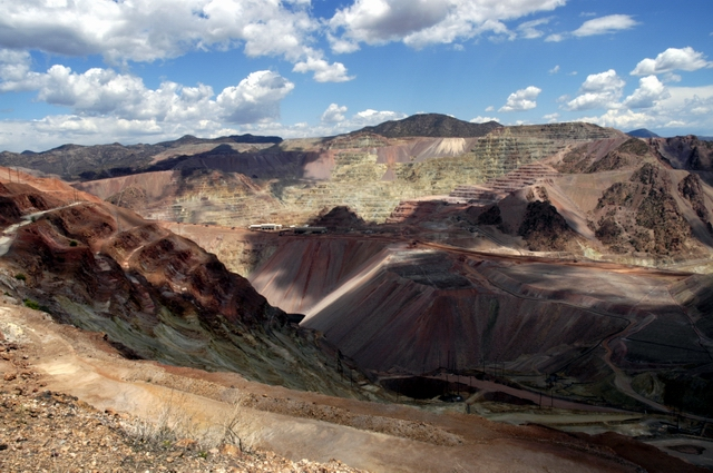 Theres copper in them there hills - Morenci - Arizona