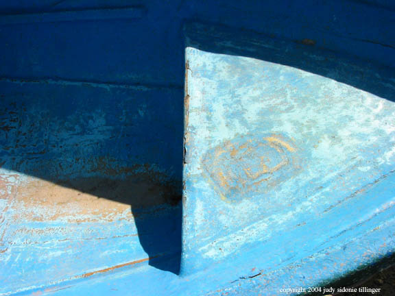 abstraction in blue, san lucas toliman, guatemala