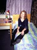 Jill chilling in my room