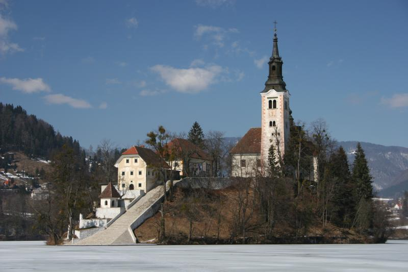 Church of Assumption on Bled Island