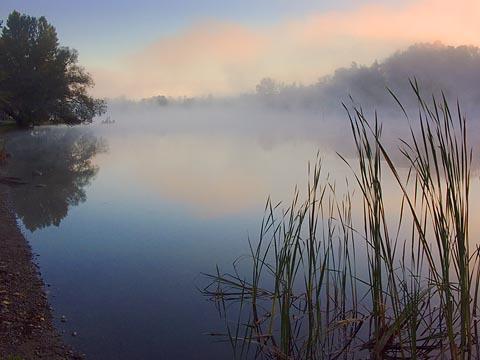 Scugog River at Dawn
