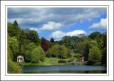 Looking back to the village ~ Stourhead