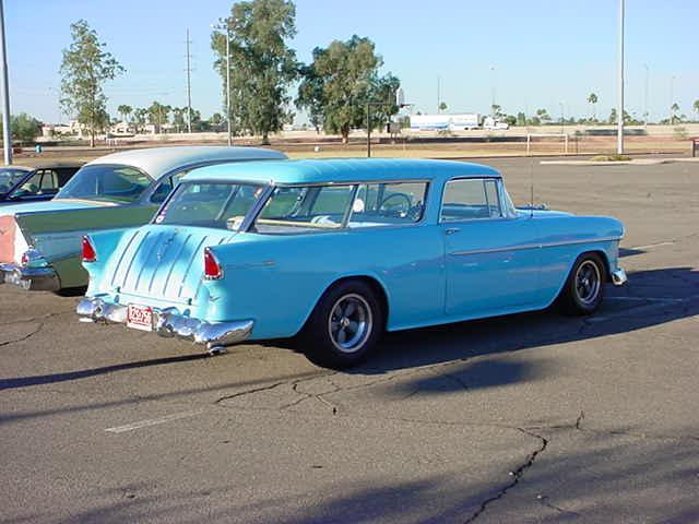 1957 Belair <br> 1955 Nomad