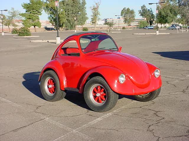 Bens Bug custom VW car