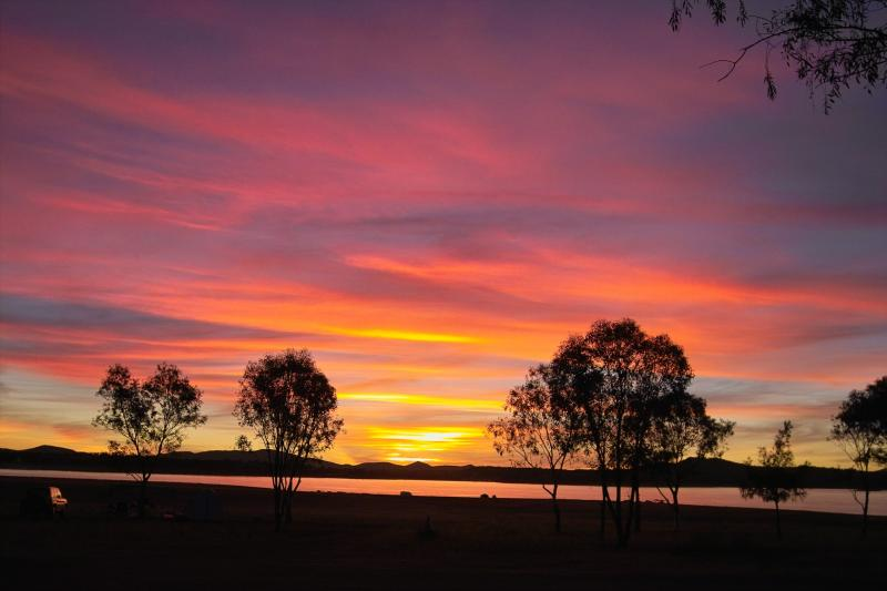 Sunset -Lake Keepit - NSW