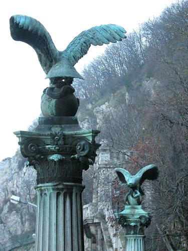 Gellért Monument (detail)