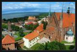 frombork cathédrale Warminska vue de  la tour CopernicATTENTION original 500k