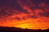 Sunset over the Estrellas