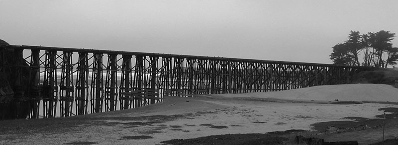 Trestle at Beach