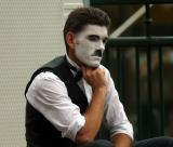 Chaplin busker