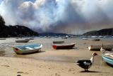 Bushfire at Ku-ring-gai Chase National Park