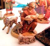 St. Franics of Assisi, who created the first creche in 13th century Italy
