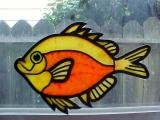 Fish created by tinting Liquid Kato clay with Pinata Inks
