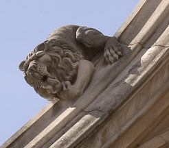 The Big Thinker, Westminster Abbey,  London