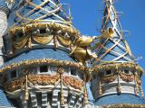 Gold Accents on Cinderella Castle