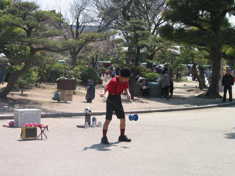 Osaka-jo Juggler
