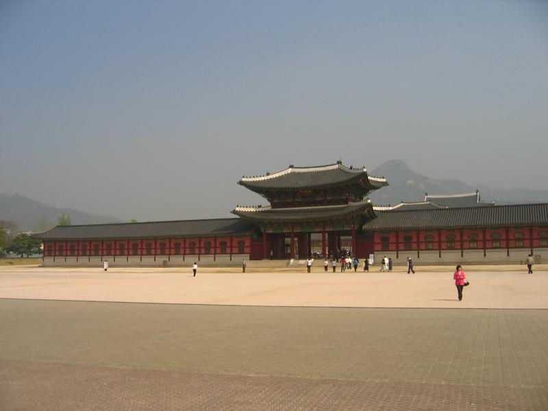 Gyeongbokgung entrance