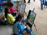 Korean children painting