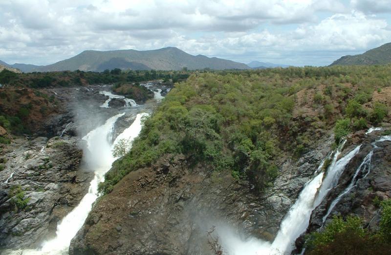 Gaganachukki, Shivasamudram falls