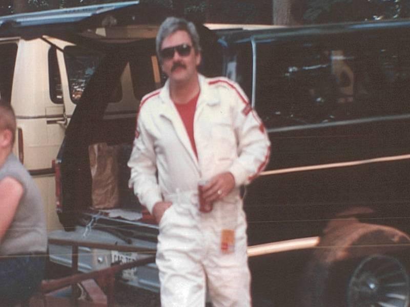 Steve Cavanah Tuckasee Speedway 1986