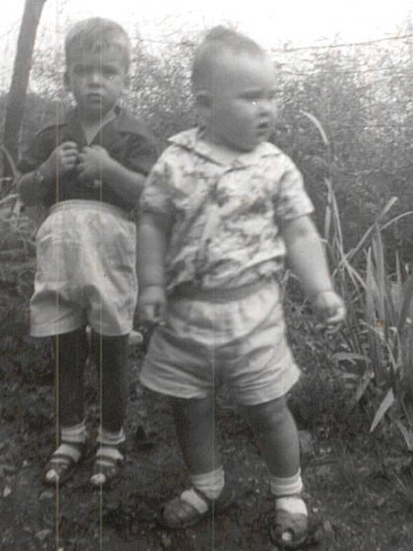 Joe Waggoner and Steve Cavanah 1951