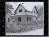 My House InThe Snow
