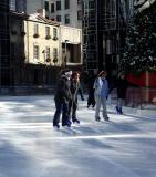 Ice Skaters at PPG Rink