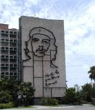 Ché on the Plaza de la Revolucion.jpg