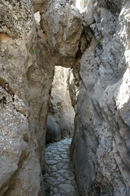Yazilikaya passage to room B