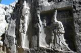 Yazilikaya sword god and Sarruma