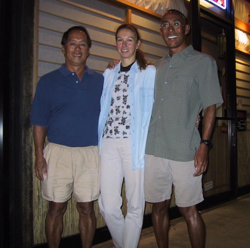 John & Nora Haraguchi (Honolulu) and Glenn
