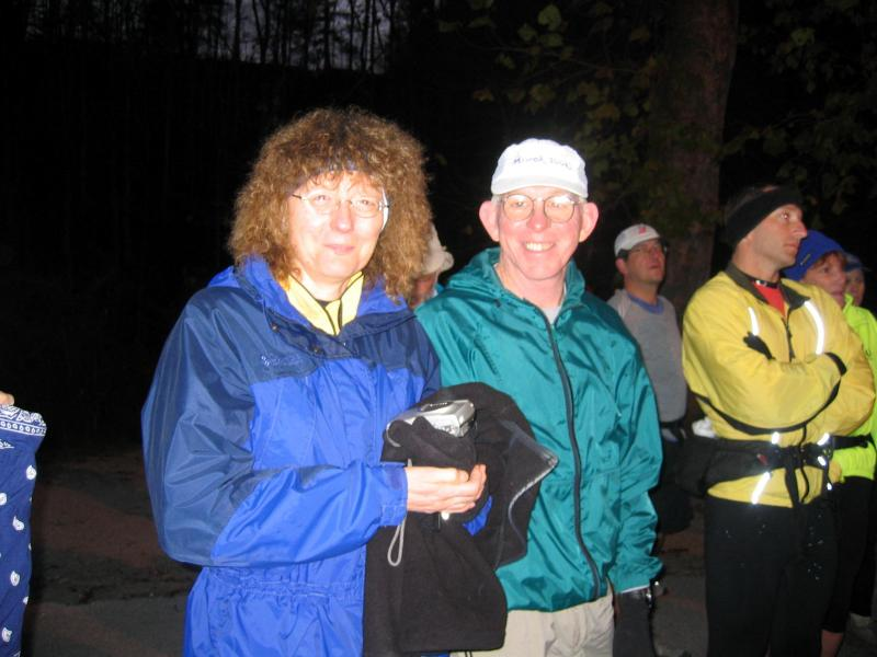 Sue Norwood & Jim ONeil (will finish in 8:45)