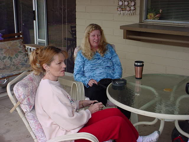 Pennie and Sandy