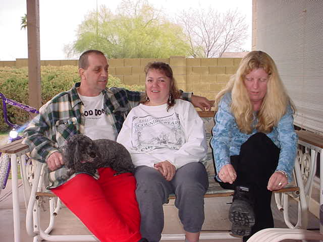 Doogie and Jeff and Tammy and Sandy