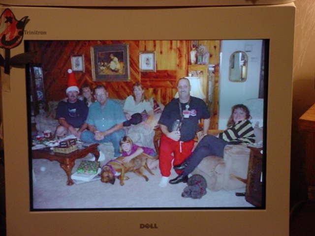 the Family on Christmas 2002