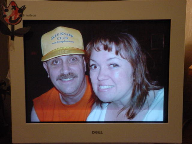 Jeff and Tammy and The Jeff Knapp Club hat
